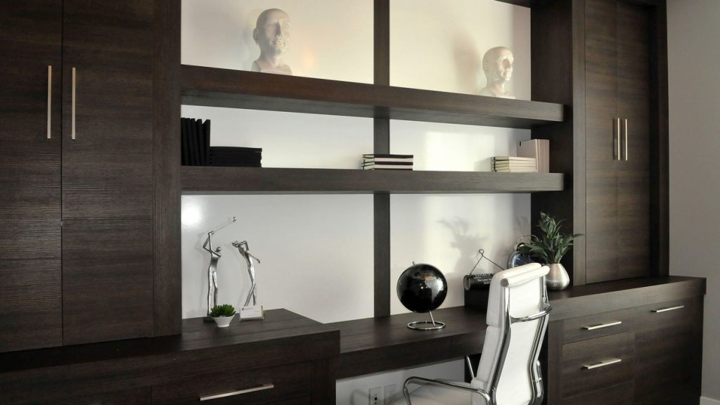 Perfect Fit Closets Custom Cabinet and Shelving in Office