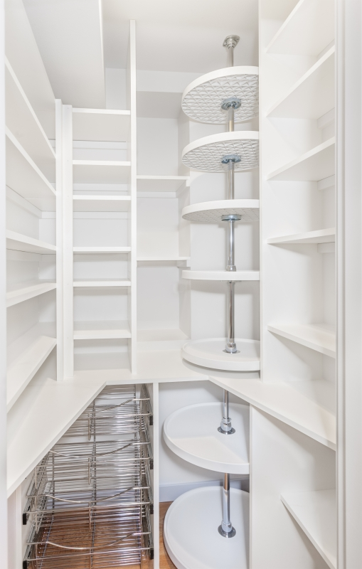 Perfect Fit Closets Custom Smaller Space Pantry