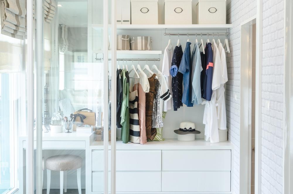 Perfect Fit Closets Custom Vanity Wardrobe
