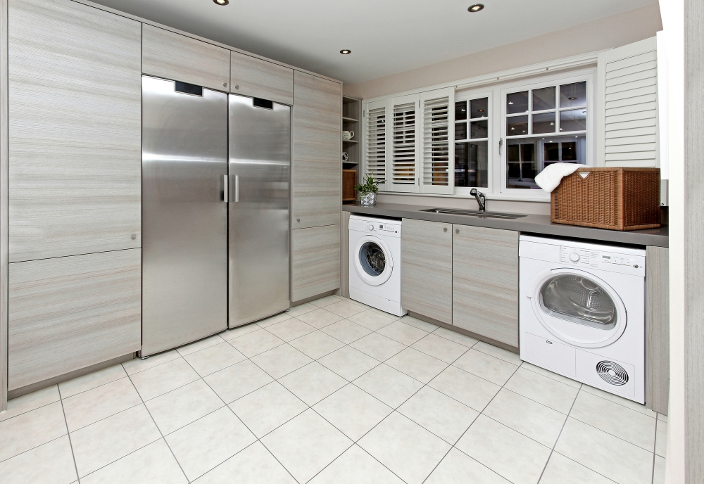 Perfect Fit Closets Modern Laundry Room Storage